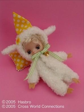 Petite Fluffy cuddly bedtime KPBL-06