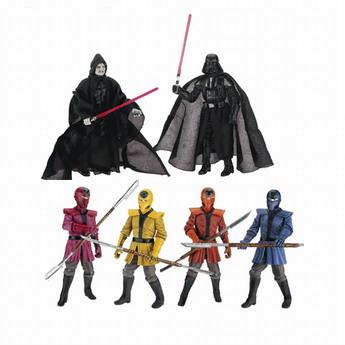 Exclusive Star Wars Crimson Empire Crucible Action Figures