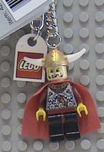 Lego Viking Commander Keychain