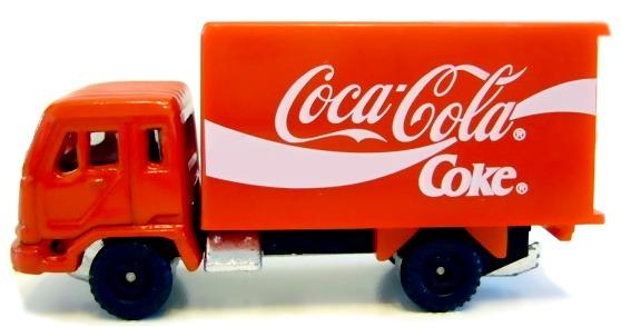 China Jiefang CA1121 China Coca Cola Delivery Truck