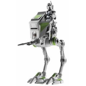 Star Wars Episode 3 AT-RT with AT-RT Driver  LOOSE