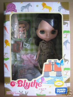 """Neo Blythe Doll - Save The Animals \""""Shop Limited\"""""""