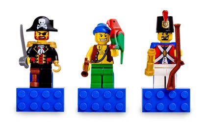 Pirates Magnet Set