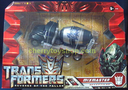 Transformers Movie 2 ROTF - Voyager Class - Mixmaster