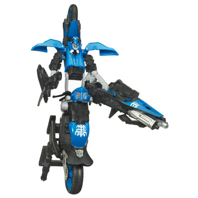Loose figure TRANSFORMERS Movie 2 Deluxe Class CHROMIA