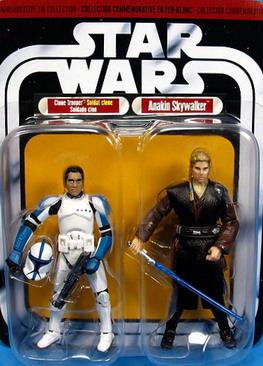 2006 COMMEMORATIVE TIN COLLECTION Card - Clone Trooper Vs Anakin Skywalker