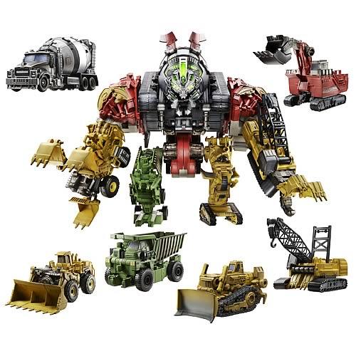 Transformers Revenge of the Fallen Constructicon Devastator