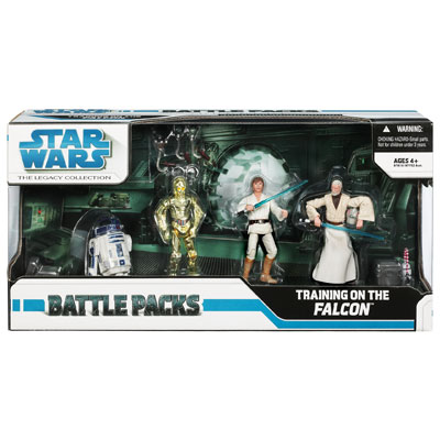 Star Wars The Legacy Collection Battle Packs: Training on the Falcon