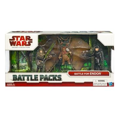 Star Wars Legacy Collection Battle Packs — Battle for Endor
