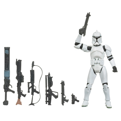 Star Wars The Legacy Collection Saga Legends - Clone Trooper