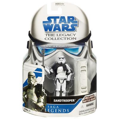 Star Wars The Legacy Collection – Saga Legends: Sandtrooper