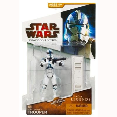 Star Wars The Legacy Collection - Saga Legends: 501st Legion Trooper