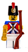 Lego Pirates Figure Soldier