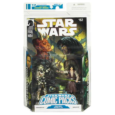 Star Wars Comic Packs: Star Wars Republic 82 – Commander Faie and Quinlan Vos
