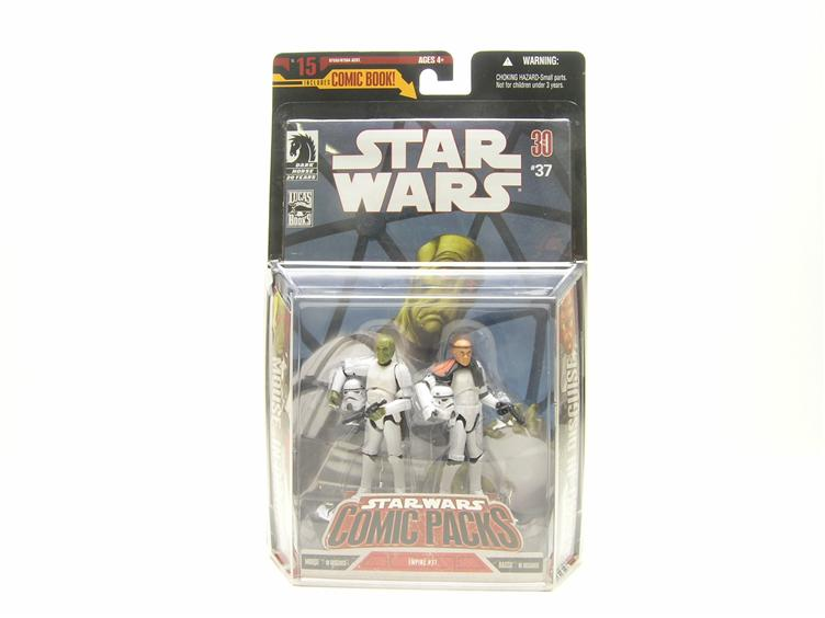 SW Comic Wave 5: Mouse In Desguise  Basso In Disguise