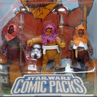 Starwars Comic packs Lieutenant Sunber  Amanin (From Star Wars: Empire 16)