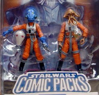 Star wars Comic packs Nrin Vakil  Ibtisam (From Star Wars: X-Wing Rogue Squadron 19)
