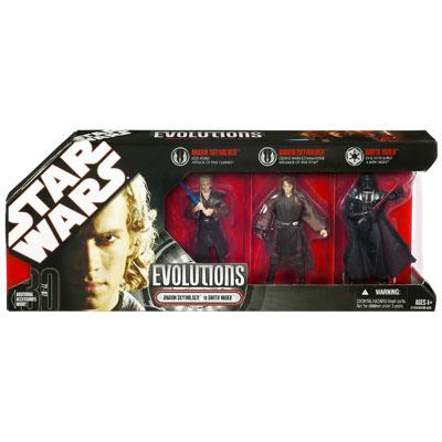 STAR WARS EVOLUTIONS 2007 (Anakin Skywalker to Darth Vader)