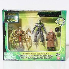 Ben 10 Figure Collection - Alien Swarm Movie Set 1