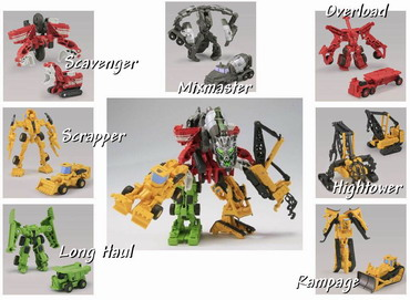 Hasbro Transformers Devastator 7 in 1