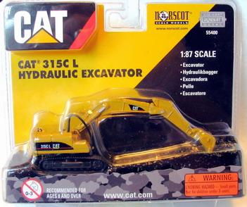 1/87 Norscot CAT 315C Hydraulic Excavator HO Scale