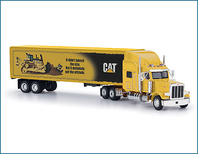 Norscot CAT Attitude/experience mural truck