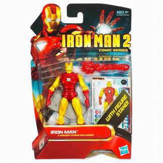 Iron Man 2 Comic Series:Iron Man with figure stand (No28)