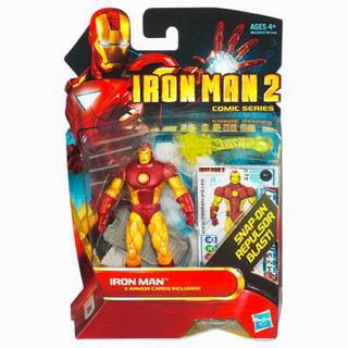 Iron Man 2 Comic Series: Iron Man with snap-on repulsor blast