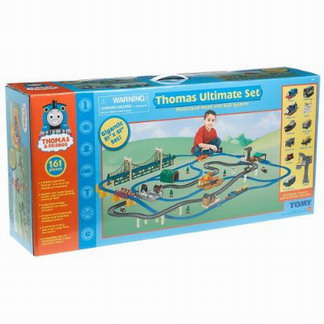 Thomas and Friends 160-Piece Ultimate Train Set