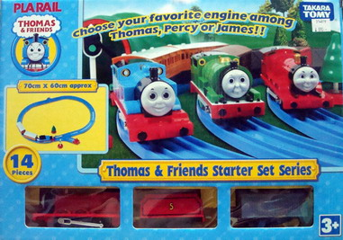 Thomas  Friends Starter Set Series (James)