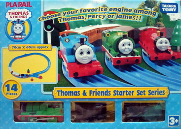 Thomas  Friends Starter Set Series (percy)