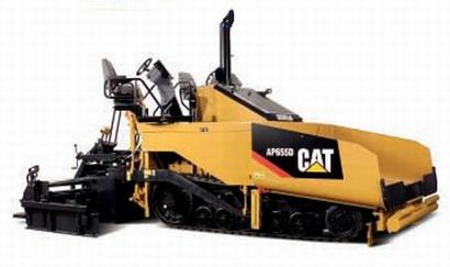 CAT AP655D Asphalt Paver