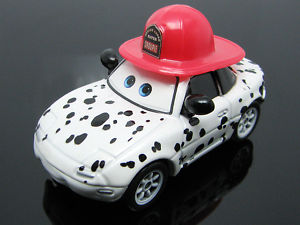 Disney Pixar Cars GROUPIE WITH RED HAT F744 (LOOSE)