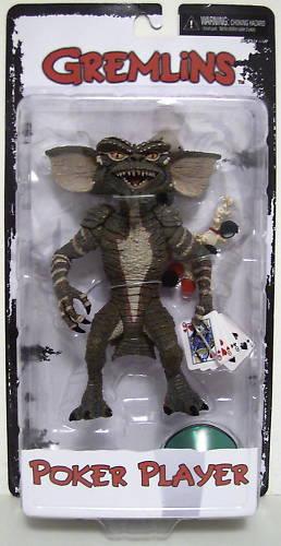 POKER PLAYER Gremlins Movie Figure