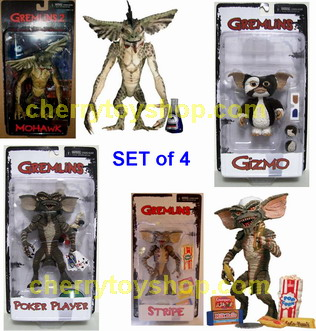 Gremlins 2010 SET of 4