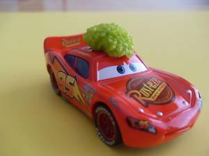 Disney Pixar Cars Mc Queen Tumbleweed (LOOSE)
