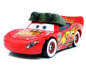 Disney Pixar Cars Night Vision Mc Queen (Loose)