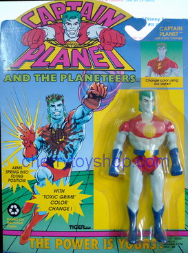 Captain Planet  with Color Change