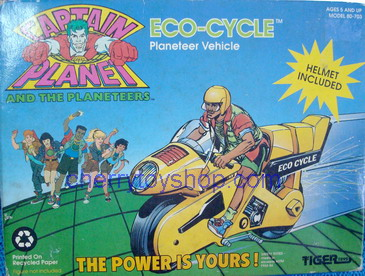 Captain PLanet - ECO-Cycle Planeteer Vehicle