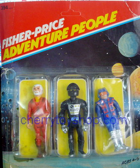 Fisher-Price - Adventure People 3 packs  Set A