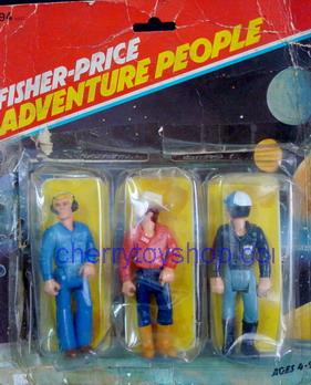 Fisher-Price - Adventure People 3 packs  Set B