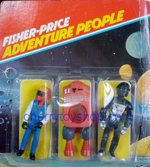 Fisher-Price - Adventure People 3 packs  Set D