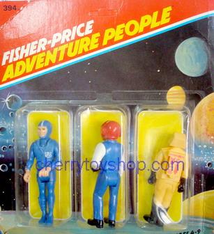 Fisher-Price - Adventure People 3 packs  Set F
