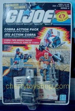 G.I.Joe  -  Cobra Twin Missile Radar