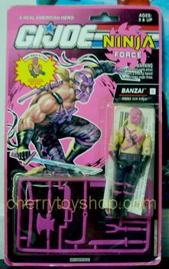 G.I.Joe Ninja force Banzai
