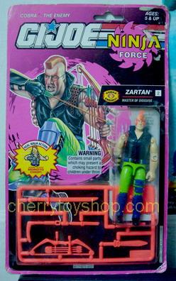 G.I.Joe Ninja force Zartan
