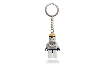 Lego Starwars Clone Pilot Key Chain