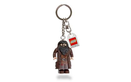 Lego Harry Potter Rubeus Hagrid Key Chain