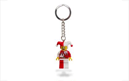 Lego Kingdoms Court Jester Key Chain