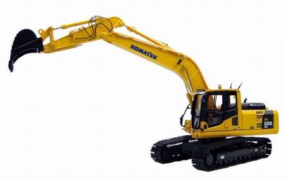 Komatsu PC200 Hybrid Excavator